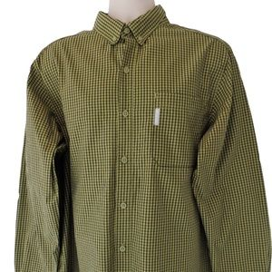 Columbia Long Sleeve Button Down Shirt Large